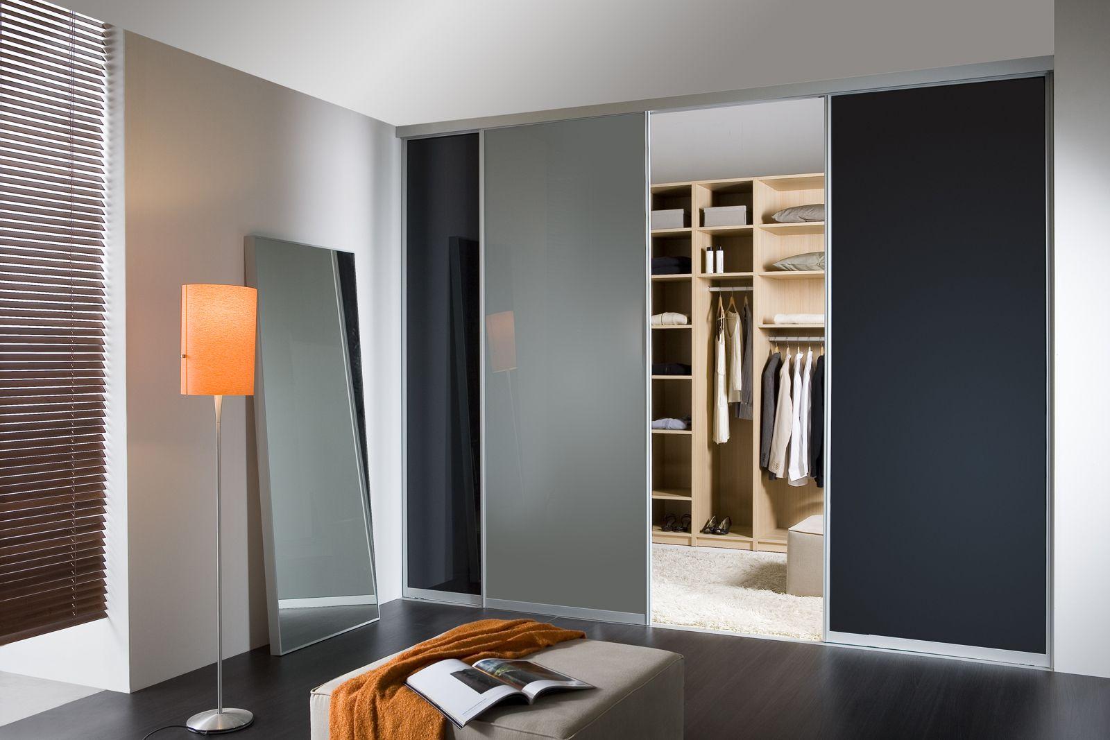 scheidingswand tussen dressing en slaapkamer. je kan verschillende, Deco ideeën