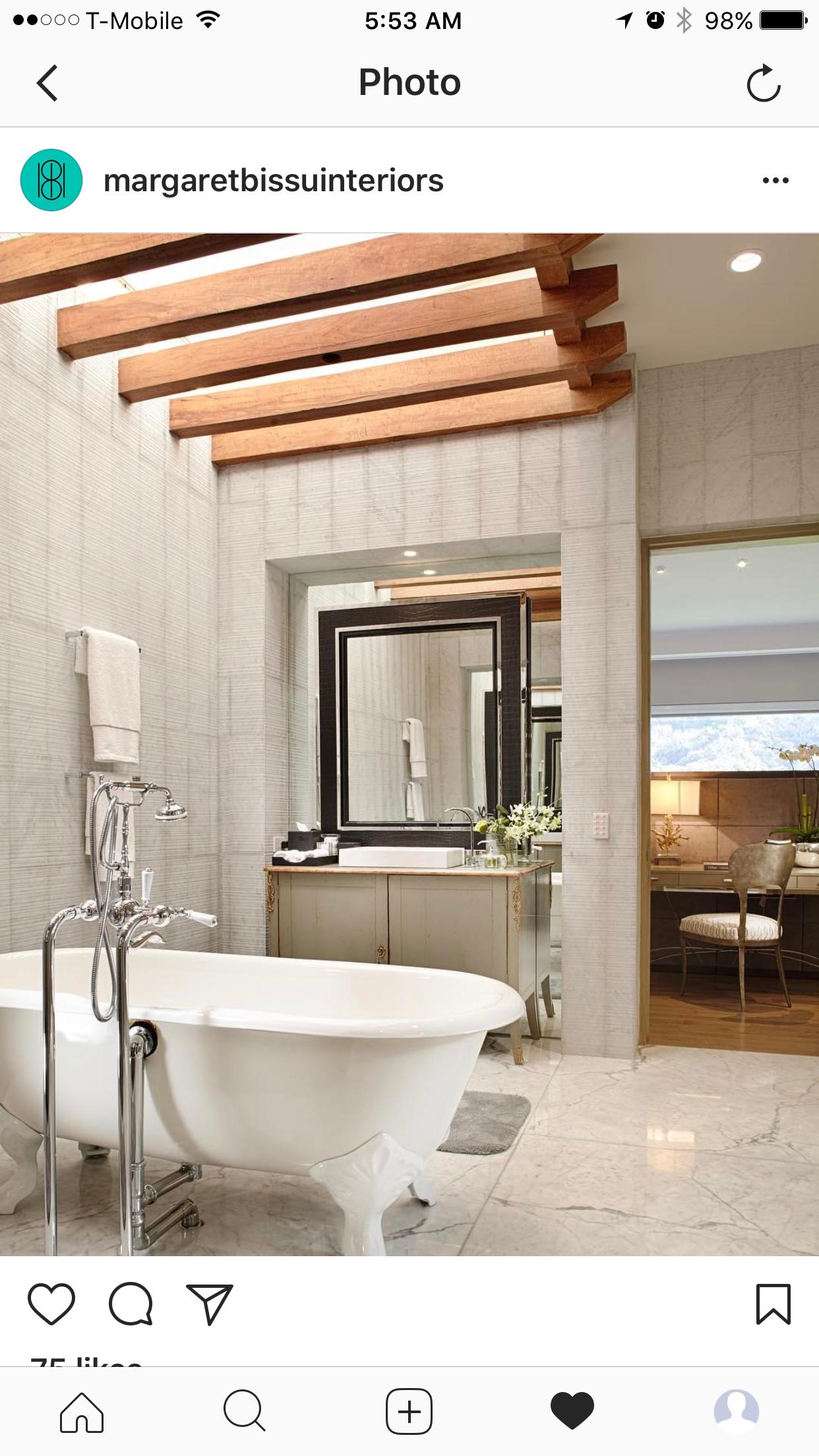 mirror with images  master bath bath bathtub