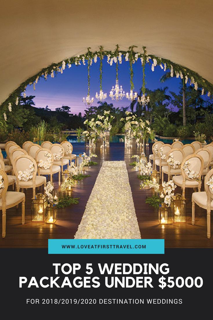 Weddings under $5000 // Budget Destination Wedding // Affordable ...