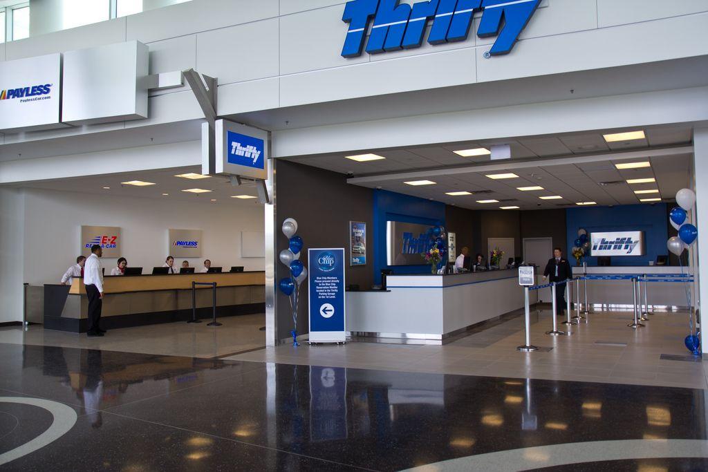 Thrifty At Seatac Airport Car Hire Car Rental Seatac