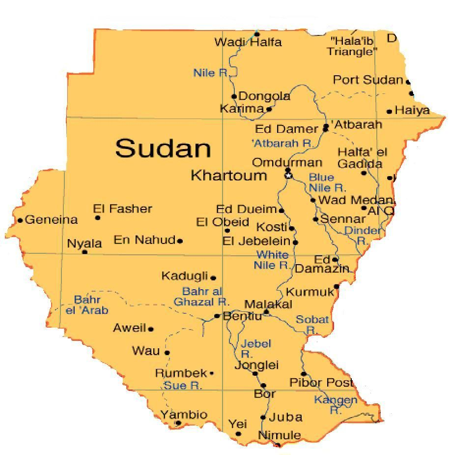 Sudan Has 37 Million People And There Country Speaks 96