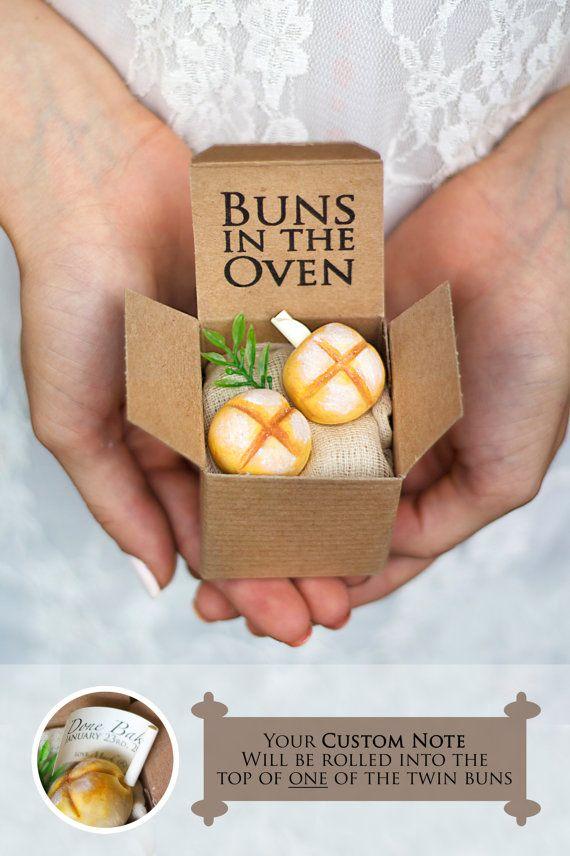 TWINS Pregnancy Announcement Bun in the Oven Baby Shower – Bun in the Oven Baby Announcement
