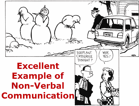 Example Of Nonverbal Communication Calvin And Hobbes Pinterest