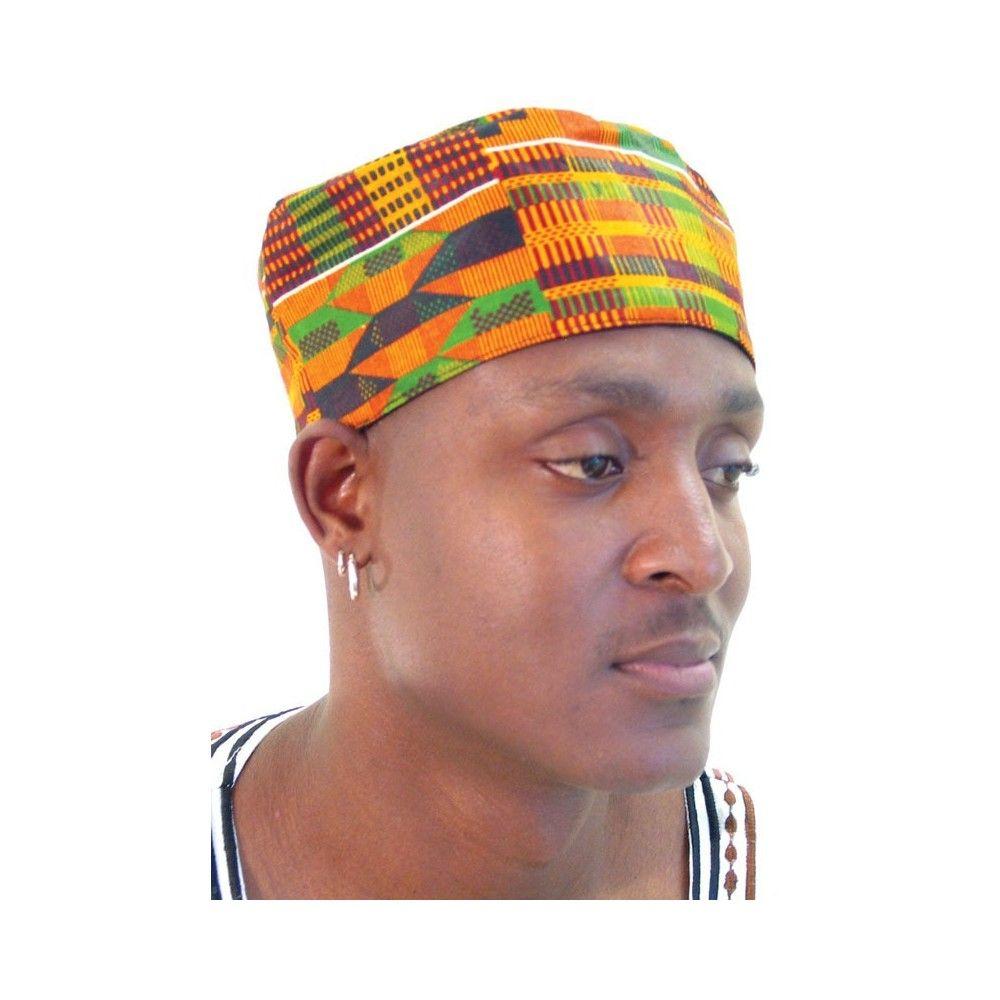 Kufi Hats African Hats Kente Pattern Hats For Men