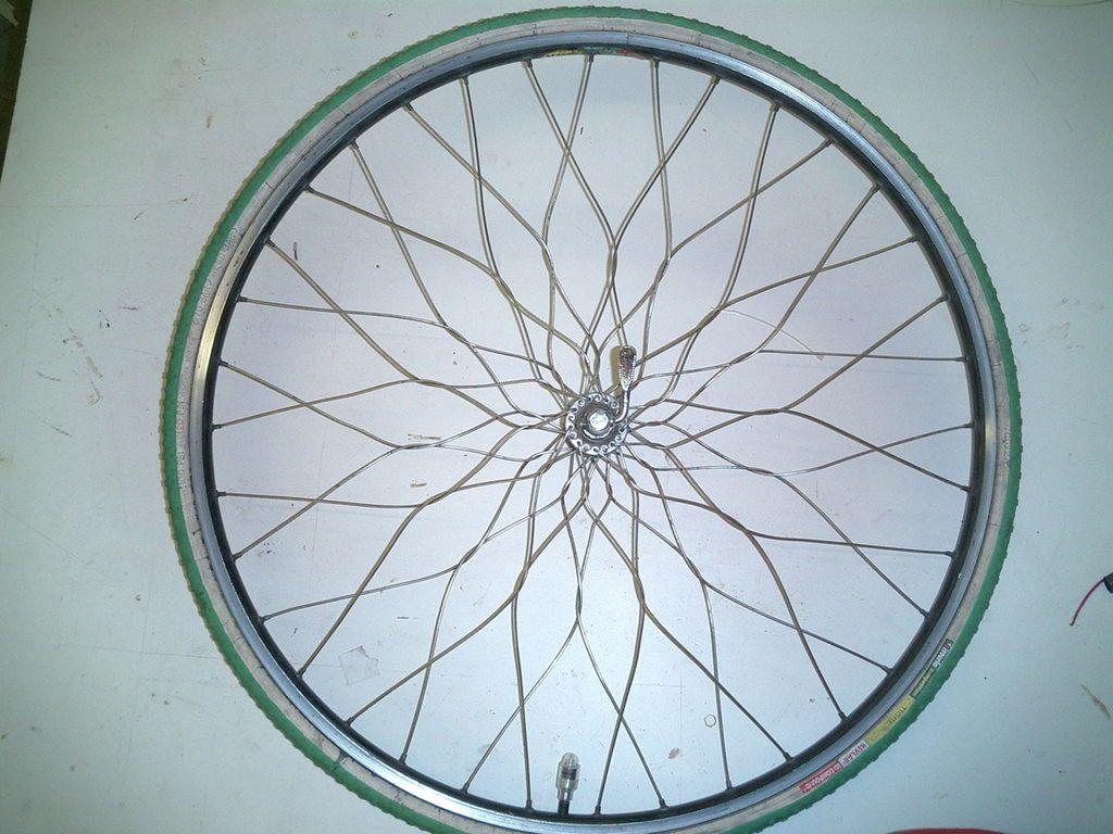 Twisted Spoke Bicycle Wheel Lacing Flowers Wheels