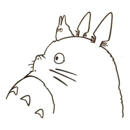 Totoro Para Colorear Mi Para On Mi By Mi Vecino Totoro Para ...