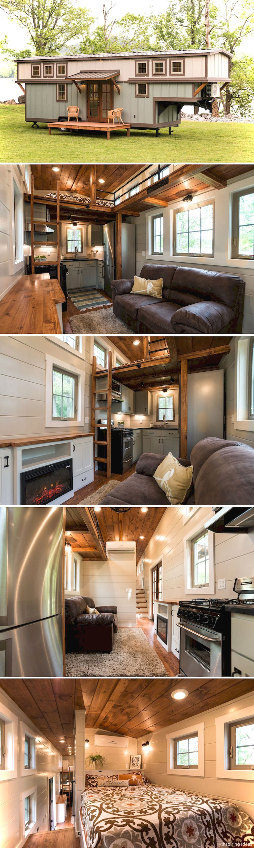 Incredible tiny house interior design ideas also ideas on wheels rh pinterest
