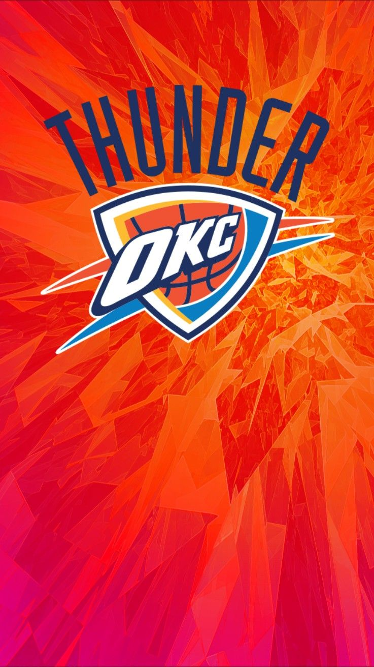 Okc Oklahoma Thunder Wallpaper Iphone Android Oklahoma City Thunder Basketball Thunder Basketball Okc Thunder Basketball