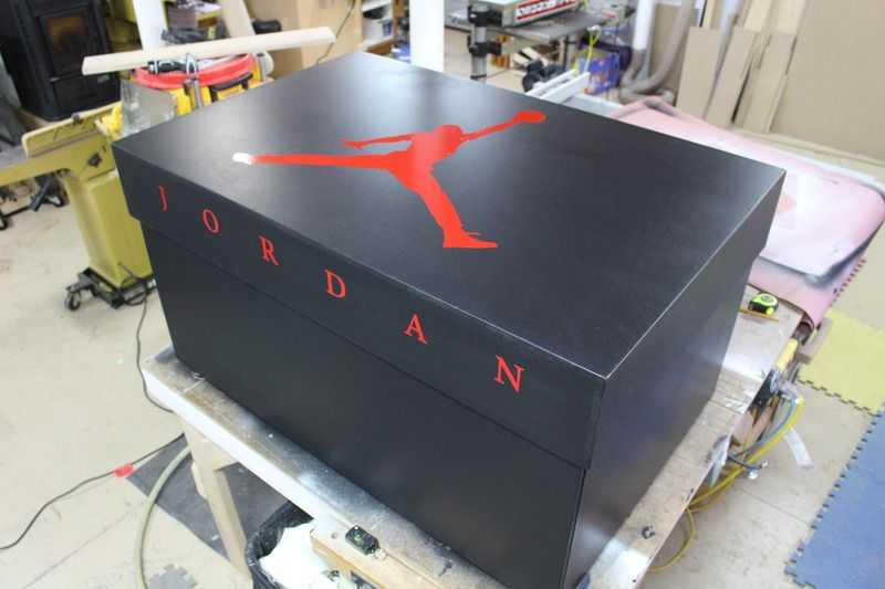 air jordan shoes storage box