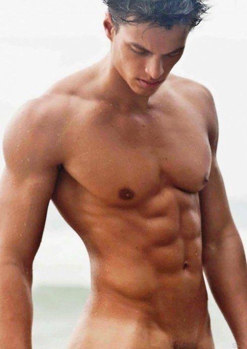 Tan guy naked Hot