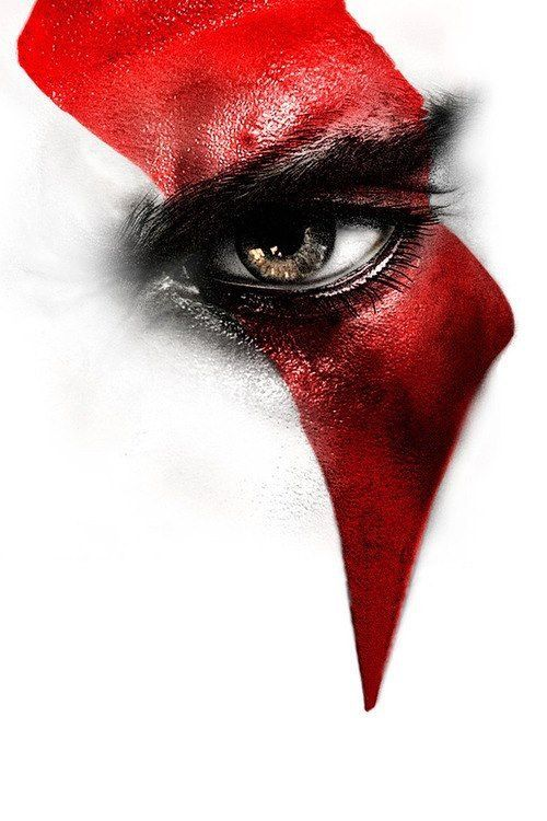 Pin By In Jesus I Win On Red On White God Of War Kratos