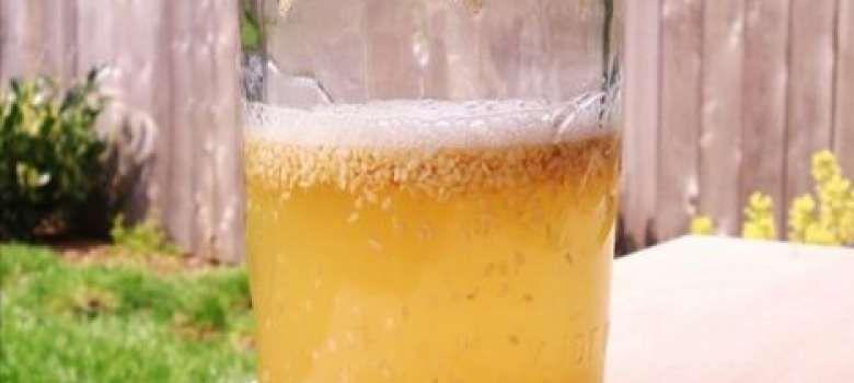 Esta bebida a base de Sésamo y miel trata más de 10 enfermedades