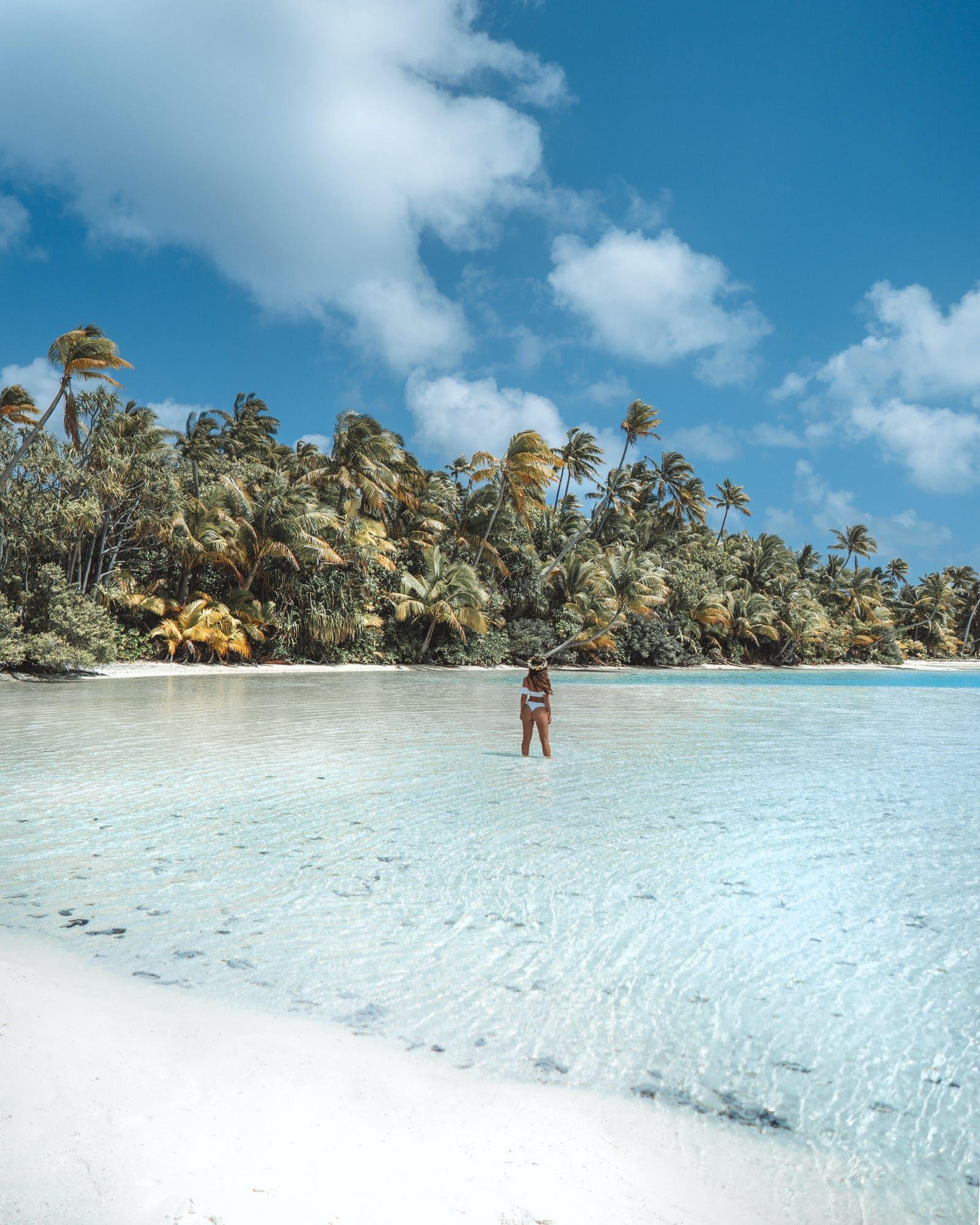 Cook Islands Rarotonga Beach: Pin On Palm Fringed Beaches