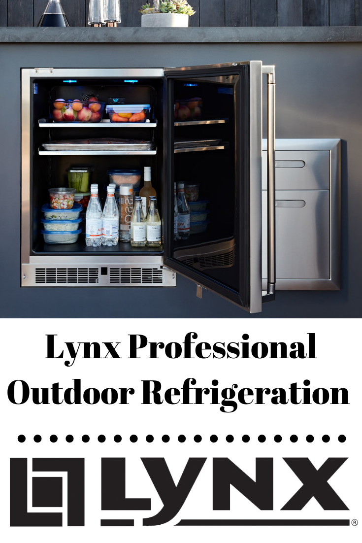 Keep The Good Times Rolling And The Drinks Extra Cold This Summer In Your Outdoor Kitchen With The Lynx Lin With Images Outdoor Refrigerator Outdoor Fridge Outdoor Remodel