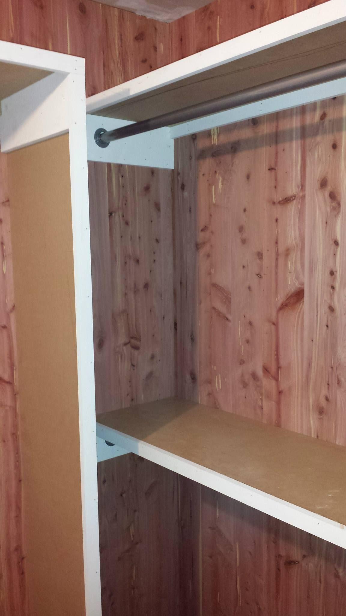 Custom Designed Aromatic Cedar Closet W/ 4u0027 X 8u0027 1/4 Inch Cedar Planks    Roberts Custom Carpentry