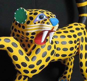 leopard carving