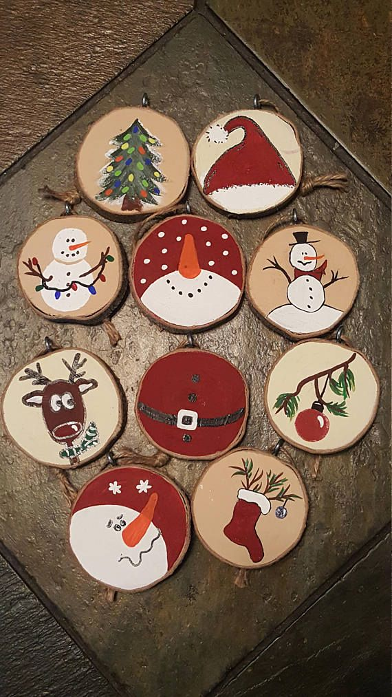 Just in time to decorate your Christmas tree! Set of 10