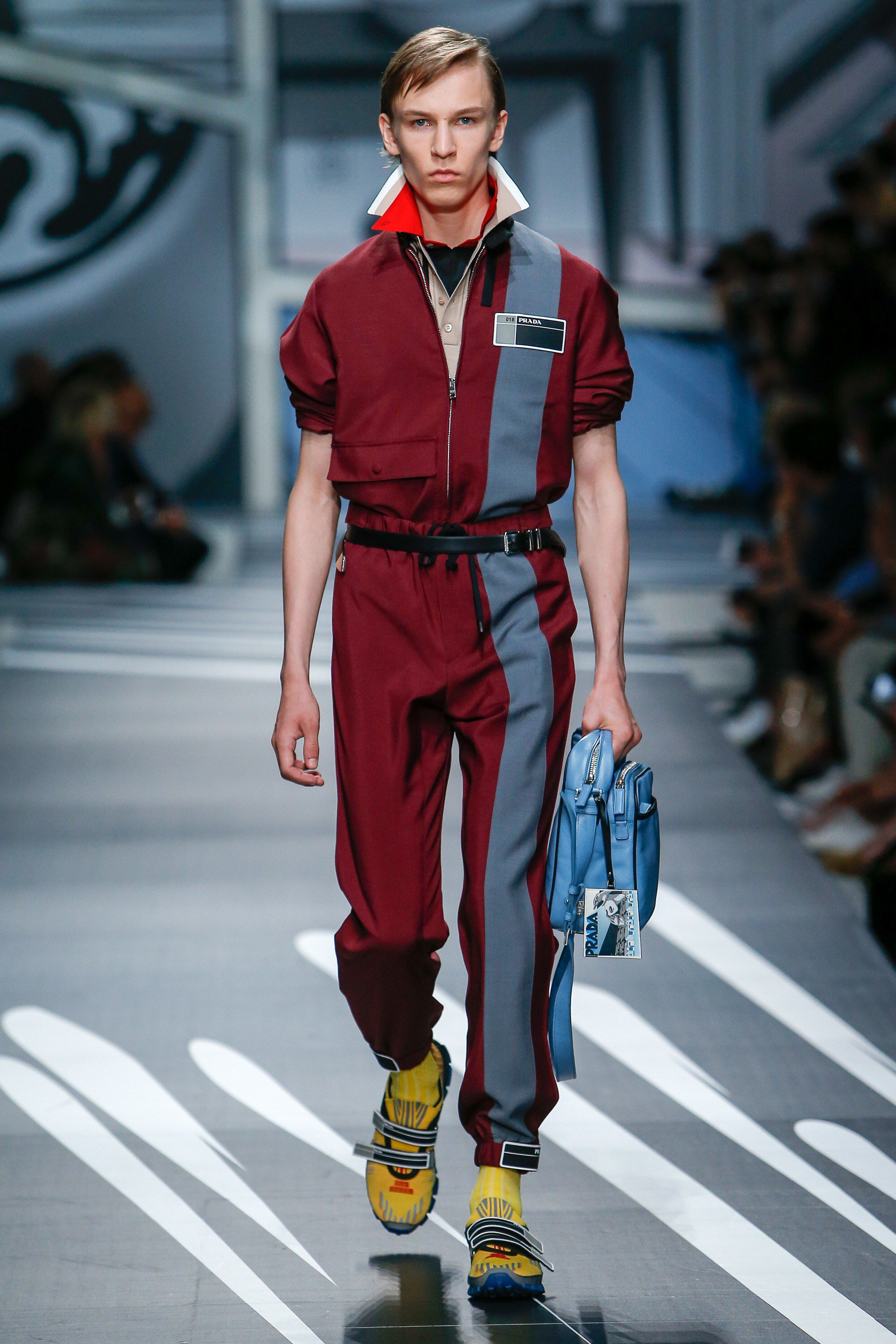 504bf9c49ba1e See the complete Prada Spring 2018 Menswear collection.