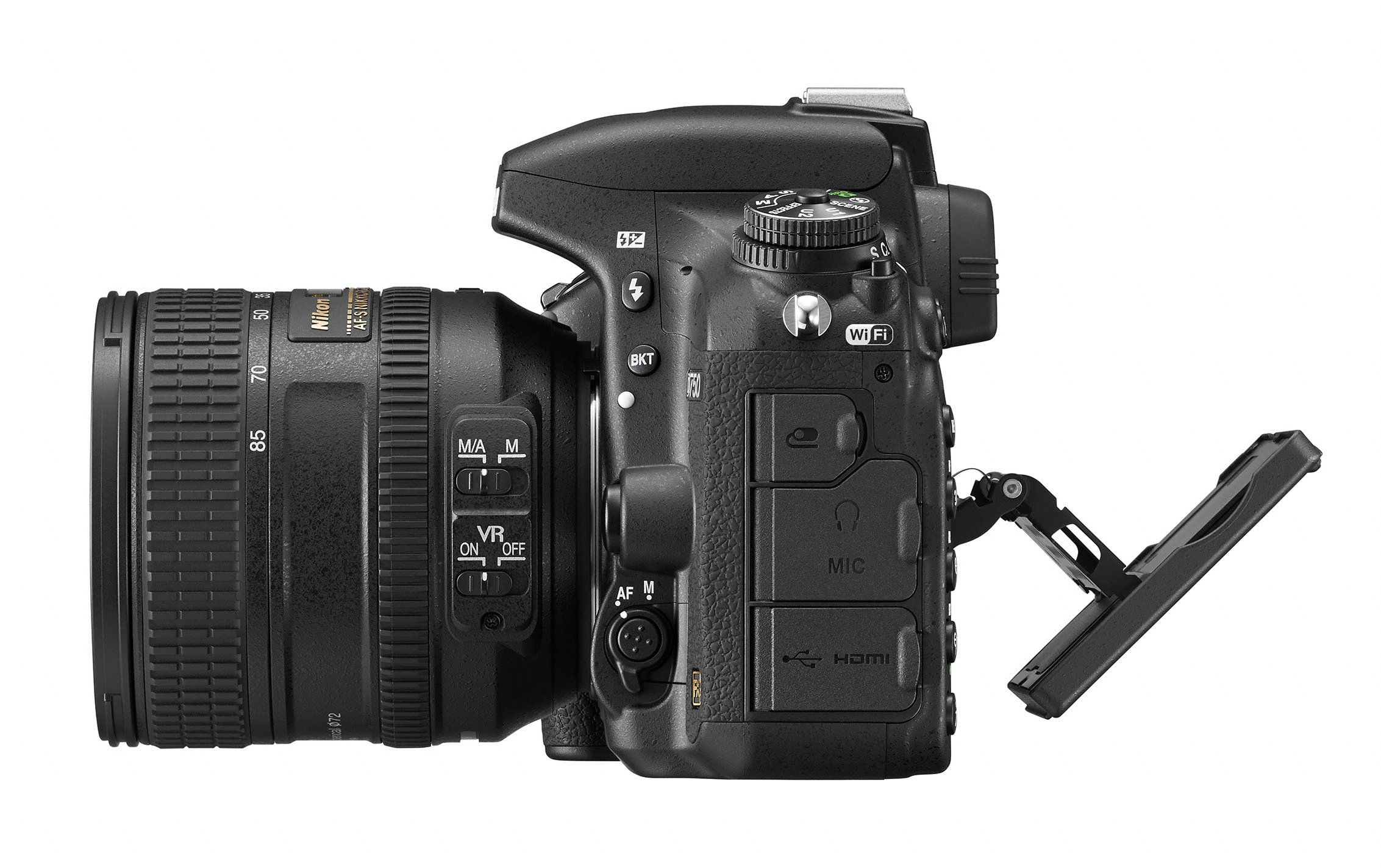 The Nikon D750 is a new full-frame DSLR camera. Description from ...