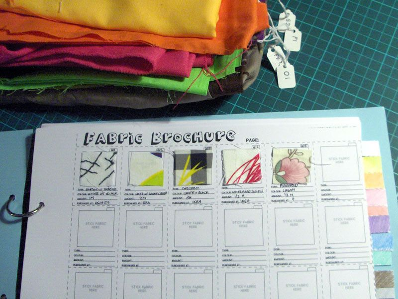 Organize your fabric stash with a fabric brochure. .  Free tutorial with pictures on how to make a journal in under 60 minutes using scissors, paper, and card. How To posted by Cat Morley. Difficulty: Easy. Cost: Absolutley free. Steps: 9
