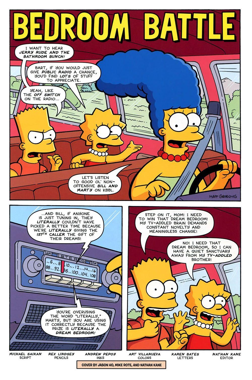Simpsons Comics Presents Bart Simpson 096 2015 -5853