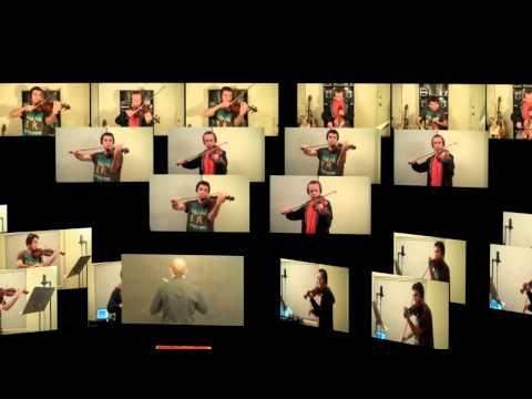 Grupos e composições virtuais são algumas das mais recentes explorações de possibilidades musicais na rede mundial de computadores, nas quais o ajuntamento das execuções é feito virtualmente e não presencialmente.