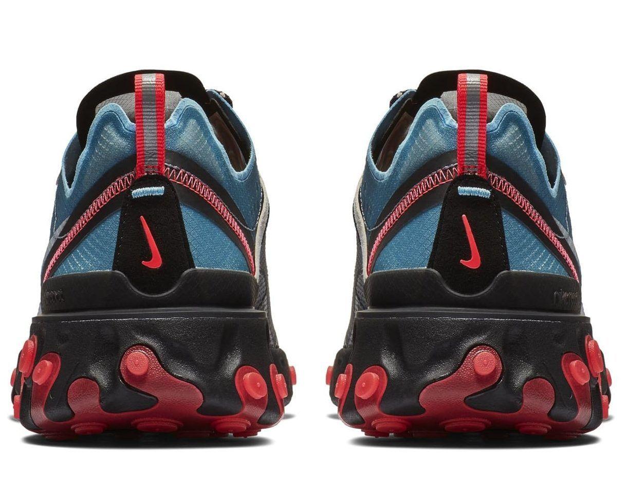 sports shoes 7e4a9 7a3e0 Nike React Element 87 Black Cool Grey