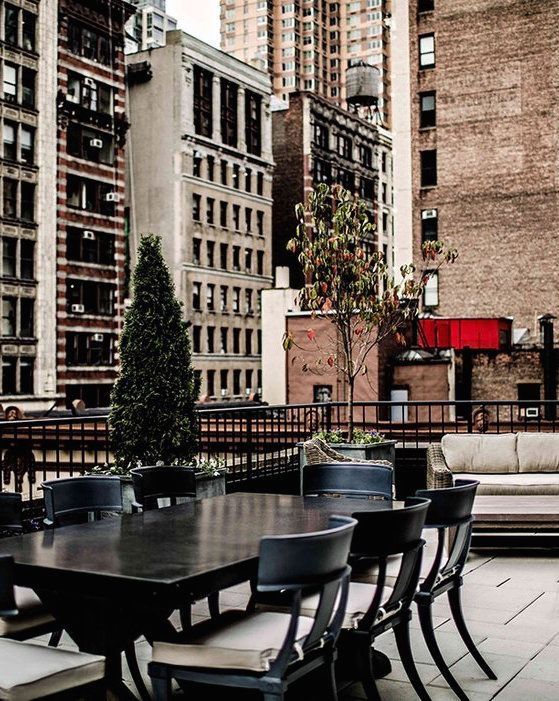 10 Most Beautiful Hotel Terraces In Nyc Nyc Hotels New York