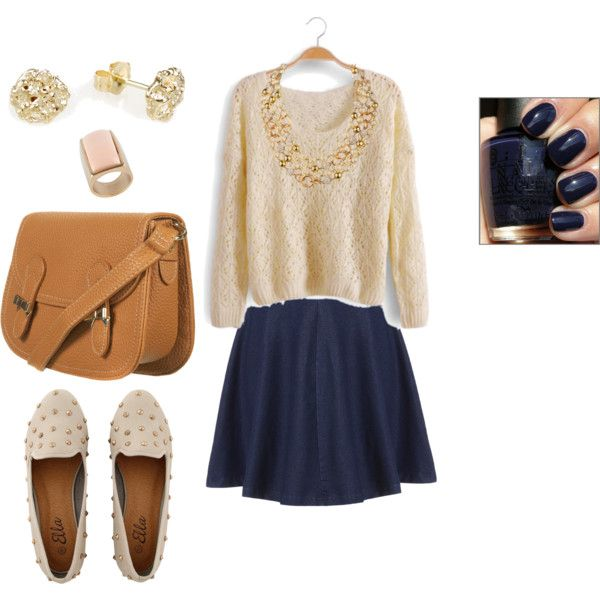 """casual day/school day"" by polishboutique on Polyvore"