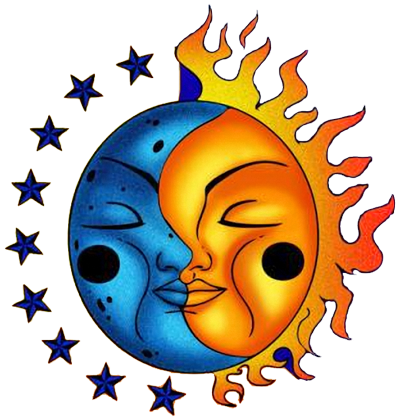 Collectionlarge Tattoo Designs Sun and moon drawings