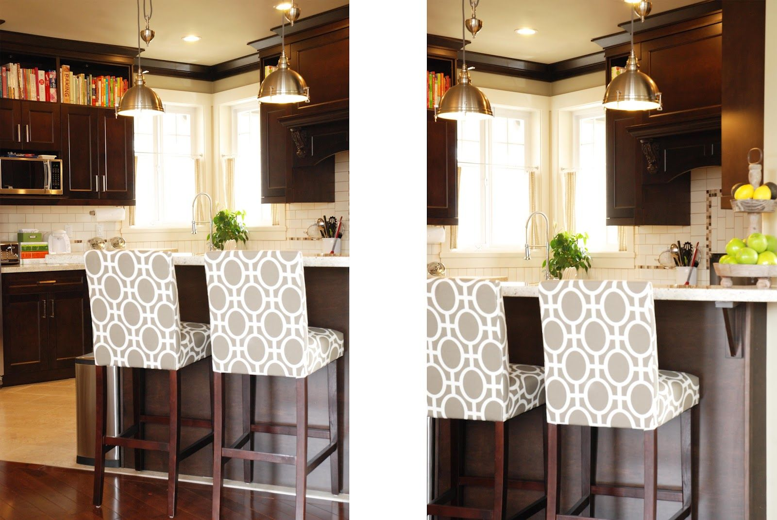 Glorious White Grey Dotted Upholstered Kitchen Counter Height With Endearing Kitchen Counter Bar Stools 2018