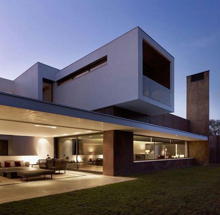 Neubau Einfamilienhaus Flachdach: Pin Von DheinArt Auf Architecture Houses