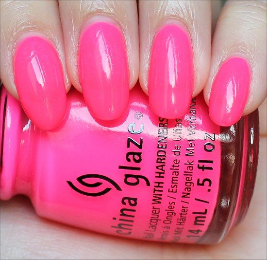 Swatch And Learn China Glaze Heat Index Swatch Sns Nails China Glaze Nail Polish