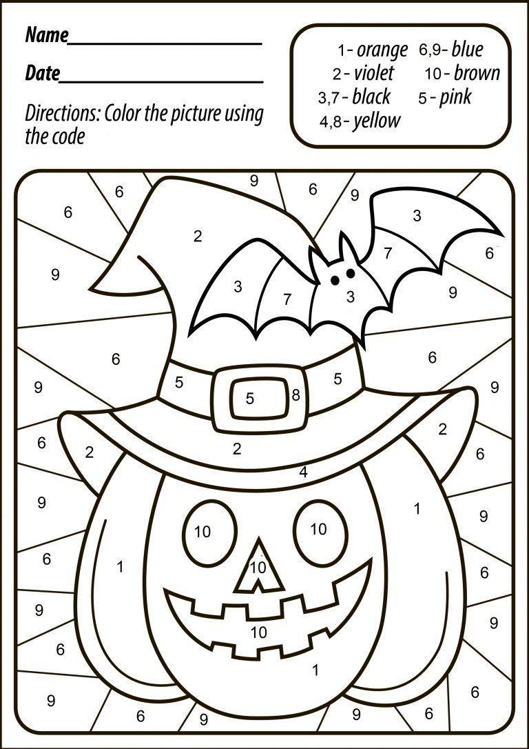 Free Halloween Worksheets For Kindergarten Worksheet For Kindergarten Halloween Worksheets Halloween Kindergarten Halloween Activities [ 1086 x 768 Pixel ]