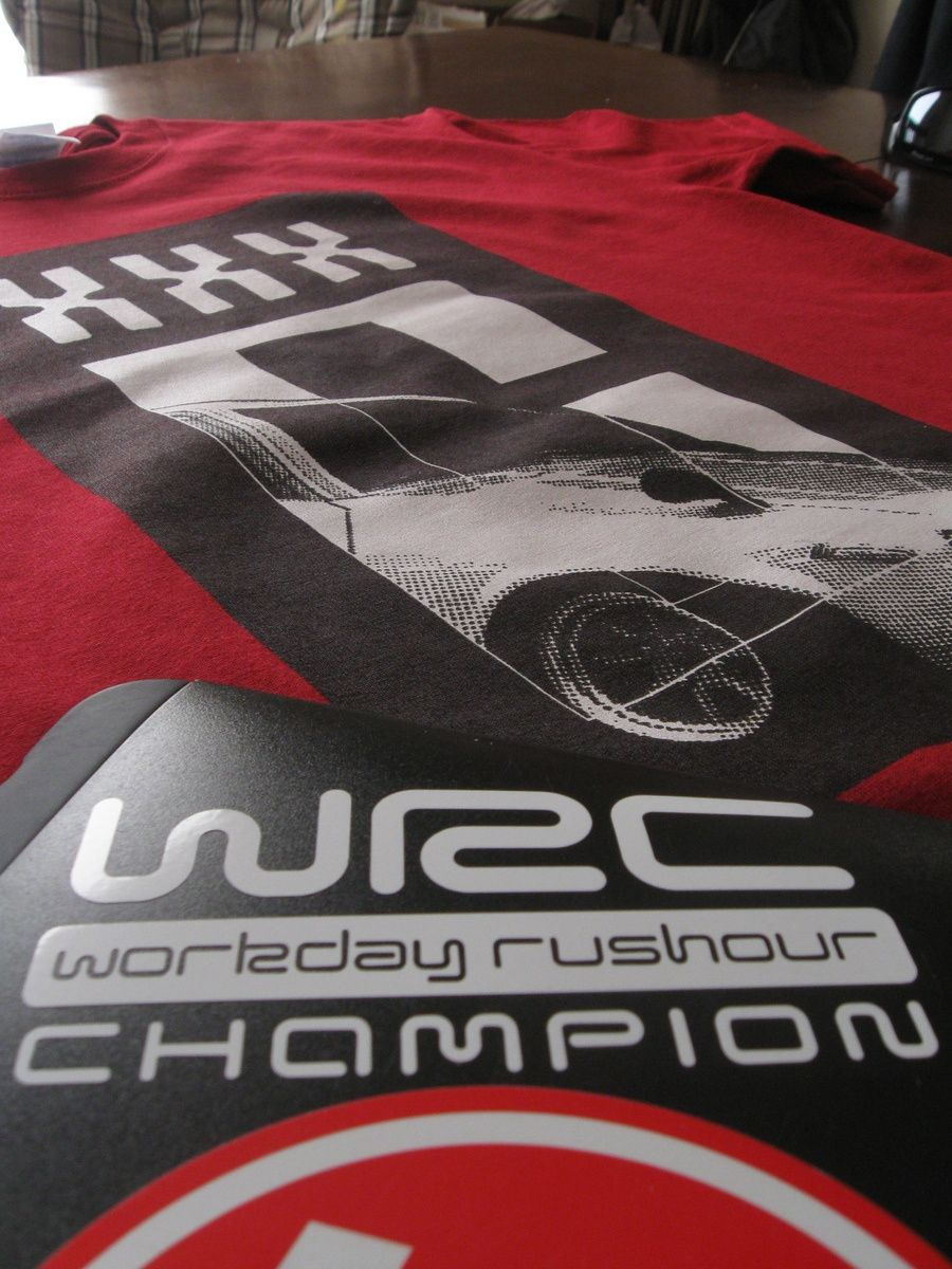 Workweek Rushour Champion Decal 2 for $5!