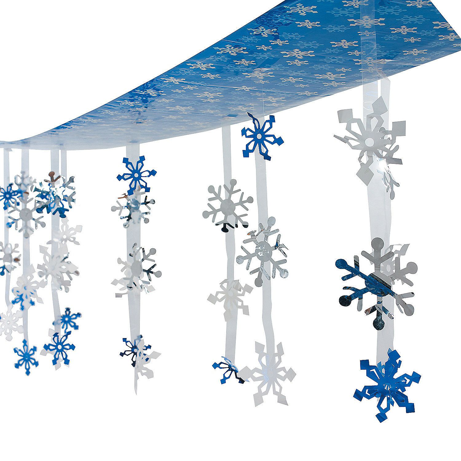 Snowflake ceiling decoration ceilings decoration and for Christmas ceiling decorations