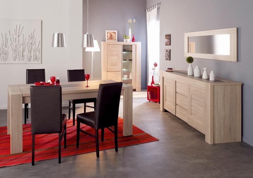 Salle à manger moderne de la marque Parisot Inspiration séjour