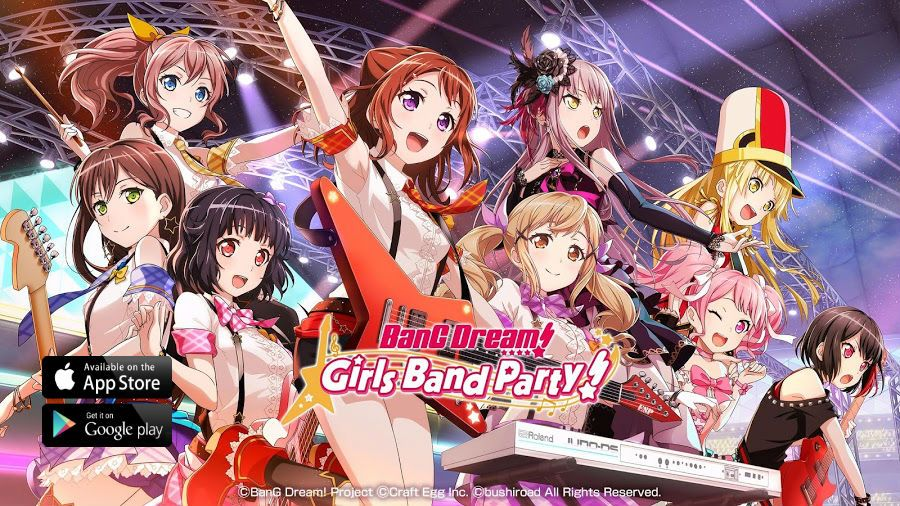 Pin on Download BanG Dream! Girls Band Party! (APK + MOD