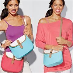 Everyday Canvas Messenger Bag #Avon #canvas #messengerbag #purse #crossbody #spring www.youravon.com/sbreslin