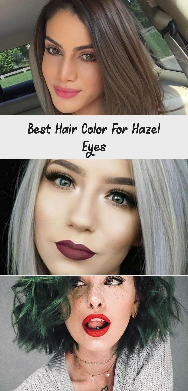Best Hair Color for Hazel Eyes dyedhairBrown