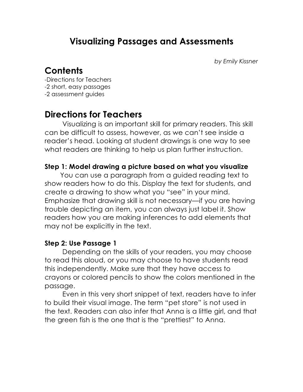Visualizing Passages And Assessments Via Slideshare Reading Strategies Basic Sight Words Student Skills [ 1325 x 1024 Pixel ]