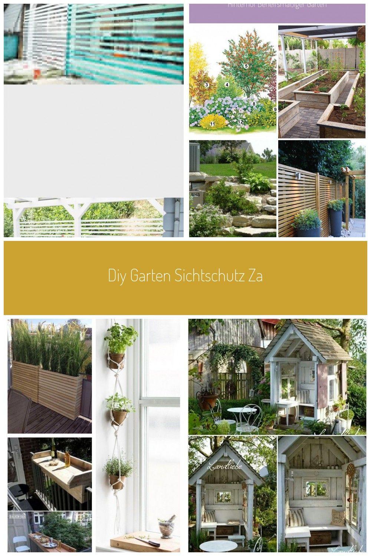 Diy Garten Sichtschutz Zaun Schnell Gnstig Delari De