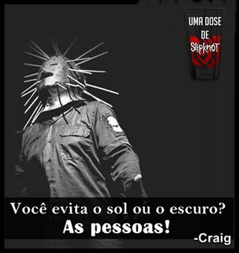 Frases Slipknot Slipknot Por Do Sol Escuro