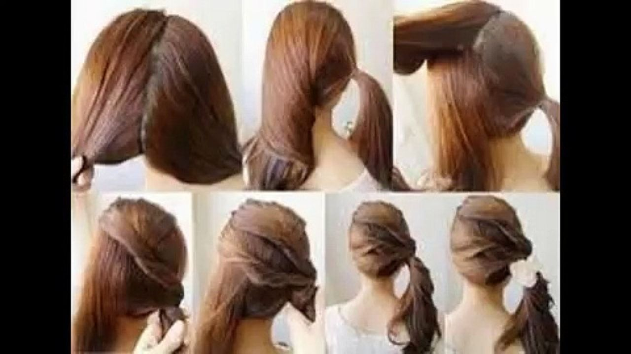 beautiful hairstyles for school dailymotion - 100 images - easy 5