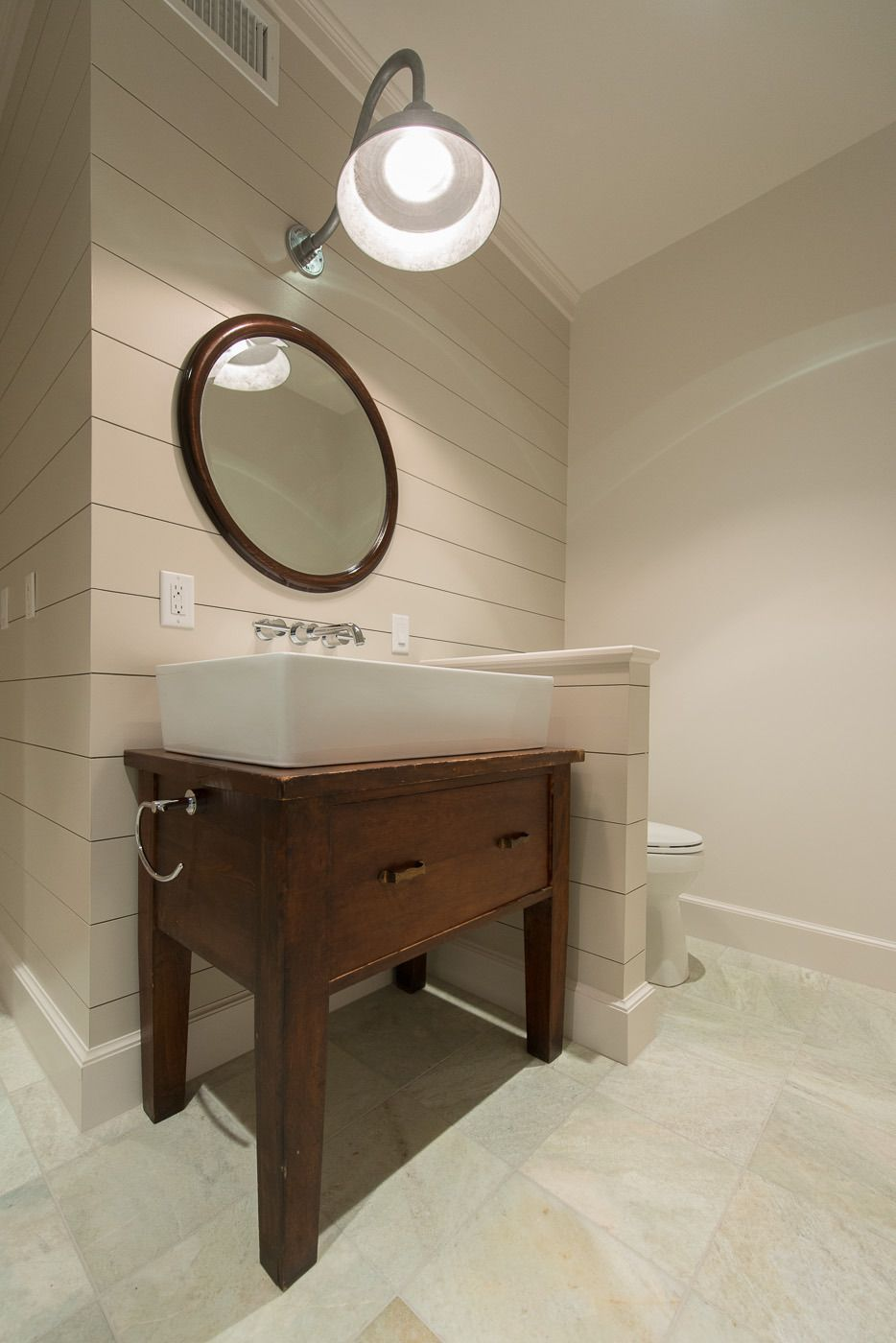Upcycled Vanity Light : Upcycled bathroom vanity. Light from Barn Light Electric. Dash Landing Pinterest Bathroom ...