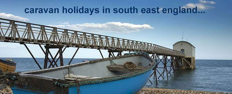Search last minute availability and find late holiday rental offers for private static caravan hire on parks across South East England.