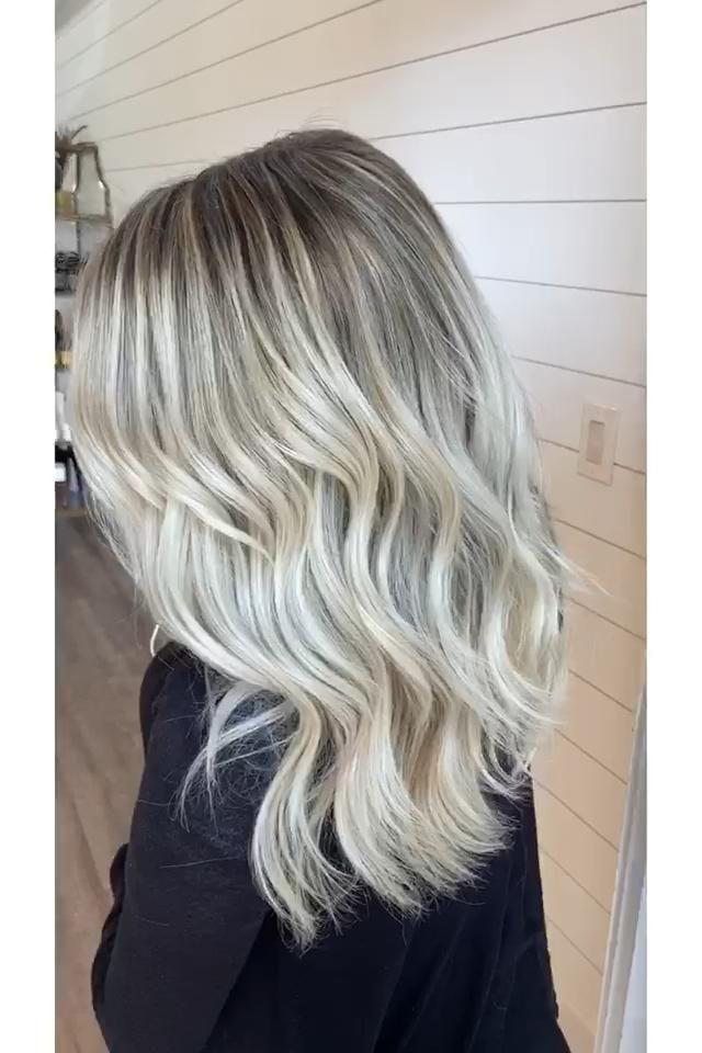 Ash Blond Highlights