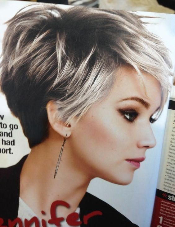 Pin By Christine Mok On Hairstyles Short Hair Model Short Hairstyles For Thick Hair Thick Hair Styles