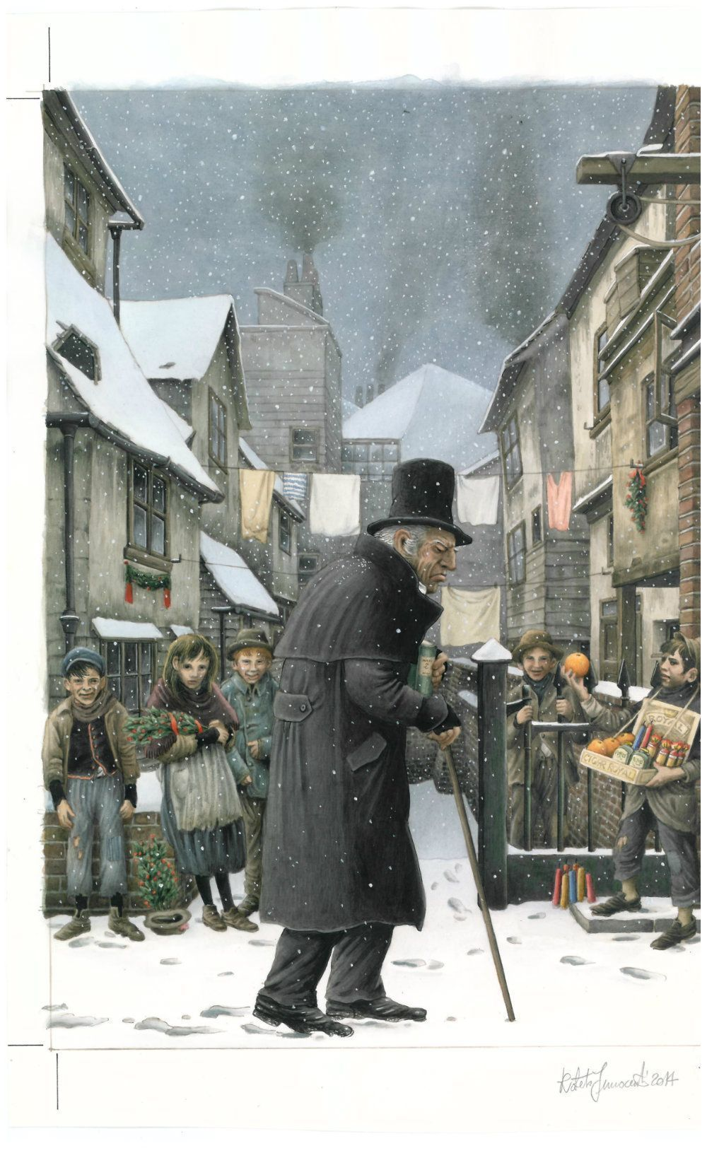 A Christmas Carol : Un conte de Noël toujours d'actualité ! - Studinano, Portfolio de Shou'