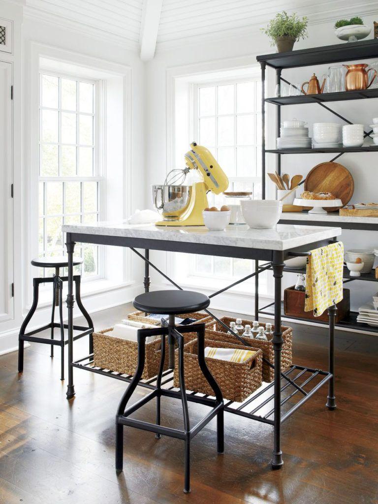 Stylish Freestanding Kitchen Islands Carts Thou Swell Freestanding Kitchen Island Freestanding Kitchen French Kitchen